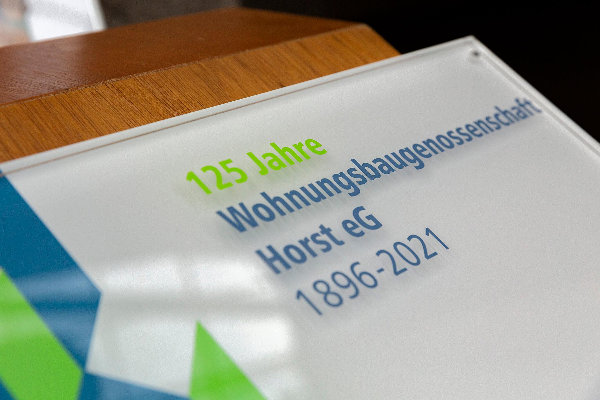Das war ein Fest! 125. Geburtstag der WBG Horst